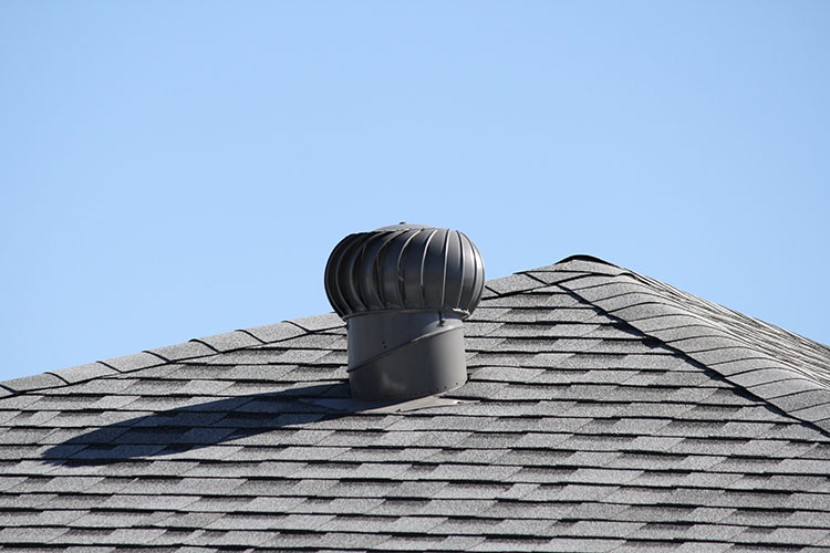 Spinning Turbine Attic Vent